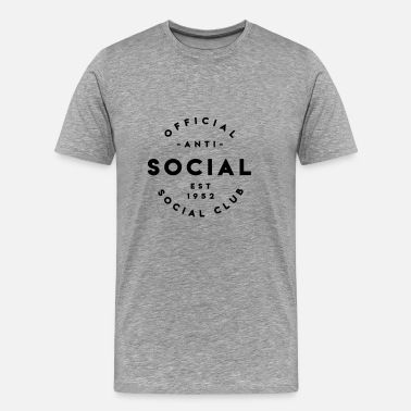 Anti Social Social Clubs Anti Social Social Club - Men's Premium T-Shirt