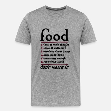 Food Lover Food  - Men's Premium T-Shirt
