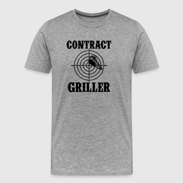 Bbq Season Contract Griller - Men's Premium T-Shirt