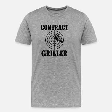 Contract Griller Contract Griller - Men's Premium T-Shirt