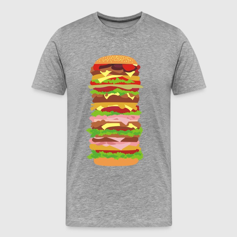 Tall-Burger - Men's Premium T-Shirt