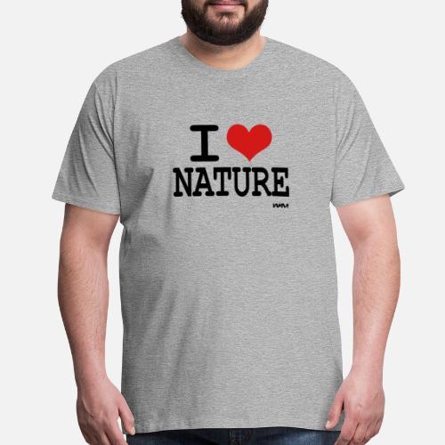 646f9124903 i love nature by wam Men s Premium T-Shirt