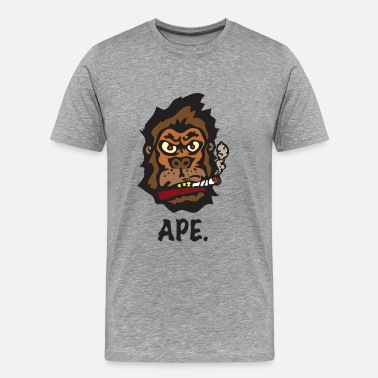The Smoking Ape Ape - Men's Premium T-Shirt