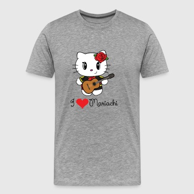 I Heart Mariachi - Men's Premium T-Shirt