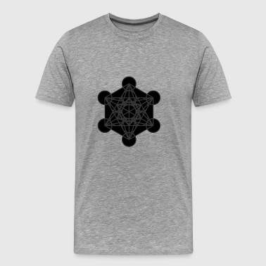 Metatron's Cube - Men's Premium T-Shirt