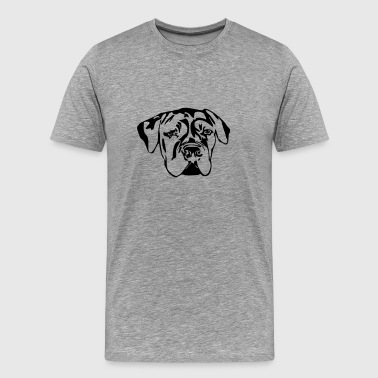 South African Boerboel  - Men's Premium T-Shirt