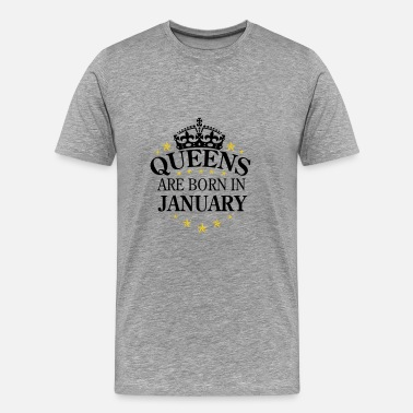 Queens January Queens January - Men's Premium T-Shirt