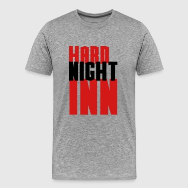 Penis Hard hard night inn - Men's Premium T-Shirt