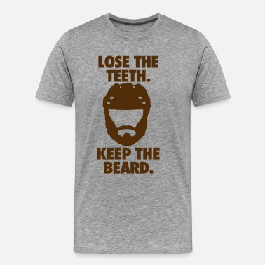 Playoff Playoff Beard - Men's Premium T-Shirt