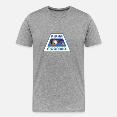Space 1999 Moonbase Alpha Crest - Men's Premium T-Shirt