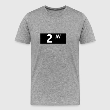 2nd Avenue New York City - Men's Premium T-Shirt