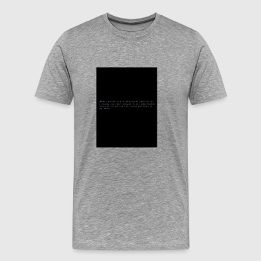 The Chainsmokers - Paris experience Black - Men's Premium T-Shirt
