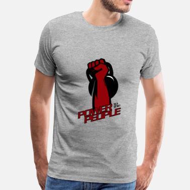 694c8398 Funny Gym Shirt - Kettlebell Fitness - Men's Premium T-Shirt
