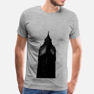 d1100c2cd Big Ben Clock Big ben clock tower - Men's Premium T-Shirt
