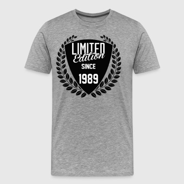 1989 Limited Edition Limited Edition Since 1989 - Men's Premium T-Shirt