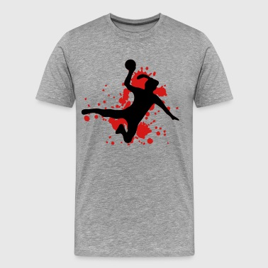 girl dodgeball - Men's Premium T-Shirt
