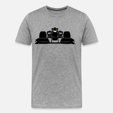 Sports Car Formula 1 front car - Men's Premium T-Shirt
