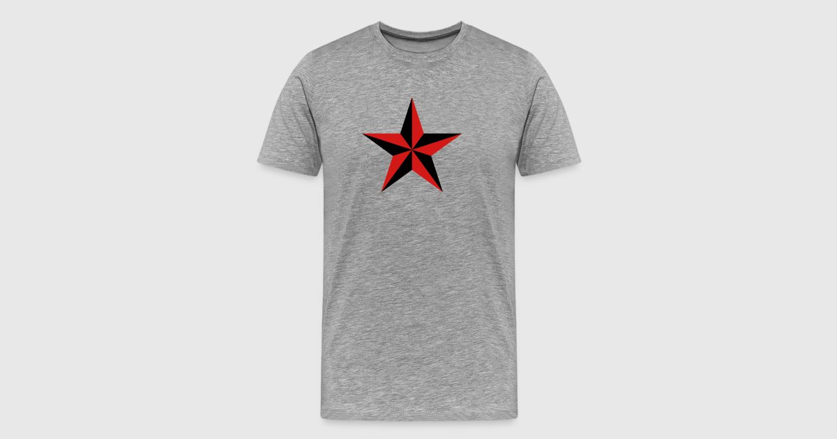 Nautical Star Symbol Protection Tattoo Sailor Navy By Yuma Spreadshirt