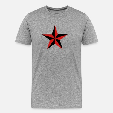 Protective Symbol Nautical star symbol protection tattoo sailor navy - Men's Premium T-Shirt