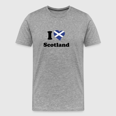 I love Scotland - Men's Premium T-Shirt
