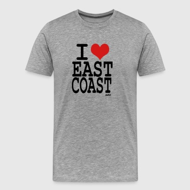 I-love-east-coast-by-wam i love east coast by wam - Men's Premium T-Shirt