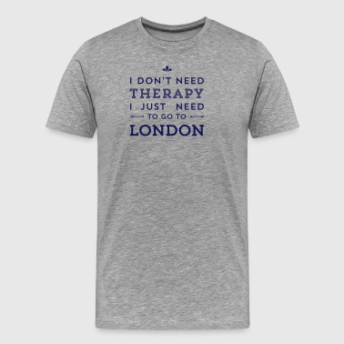 Funny London London - Men's Premium T-Shirt