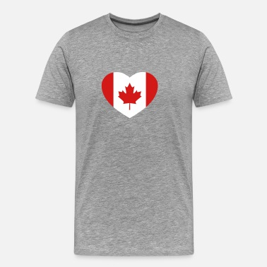 Canadian Heart Canadian heart - Men's Premium T-Shirt