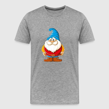 Cartoons-funny-Gnome - Men's Premium T-Shirt
