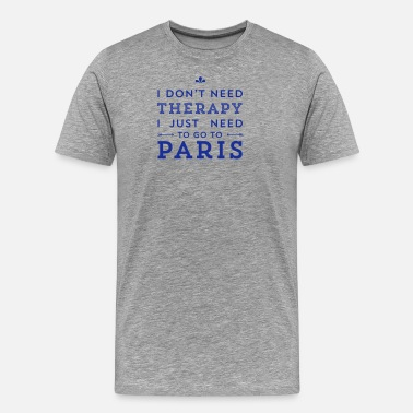 Paris Paris - Men's Premium T-Shirt