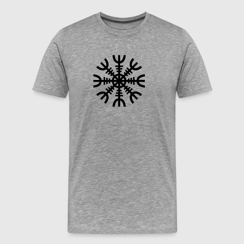 Aegishjalmur: The Helm of Awe - Men's Premium T-Shirt