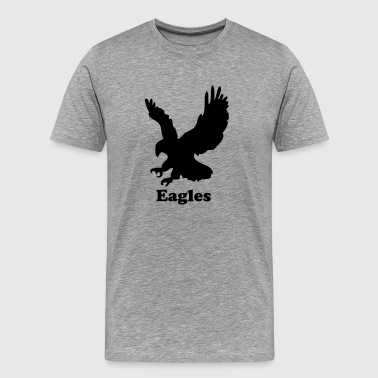 Custom Eagle Sports Graphic - Men's Premium T-Shirt