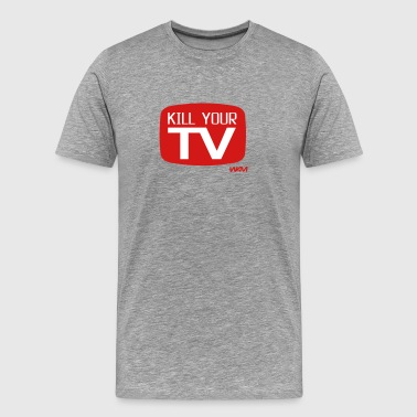 kill your tv by wam - Men's Premium T-Shirt