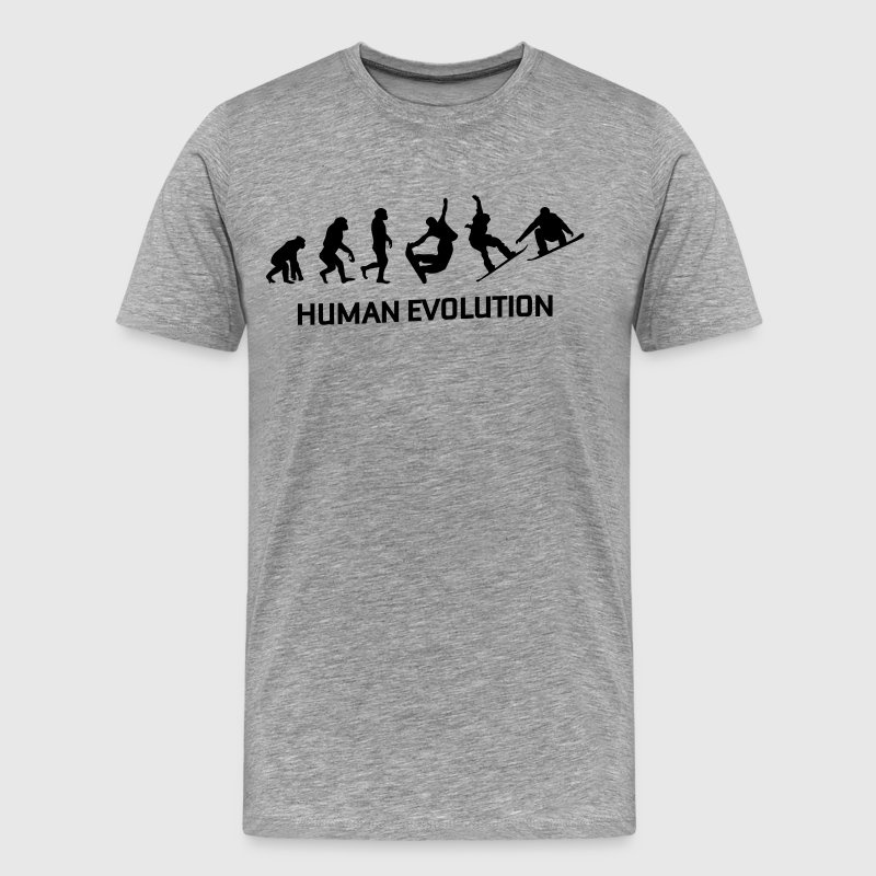 Human Evolution t Shirt - Men's Premium T-Shirt