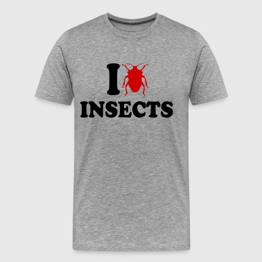 I Love Insects - Men's Premium T-Shirt