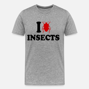 I Love Insects I Love Insects - Men's Premium T-Shirt
