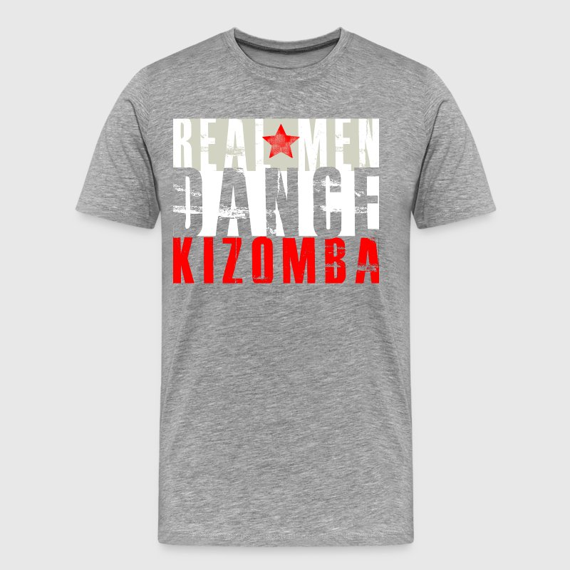 Real Men Dance Kizomba - Men's Premium T-Shirt