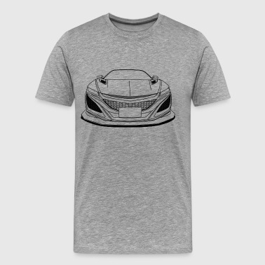 cool jdm car outlines - Men's Premium T-Shirt