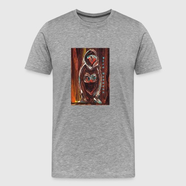 Divine Bird Goddess Paint - Men's Premium T-Shirt