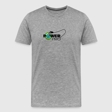 Power Lines POWER PRO FISHING LINE - Men's Premium T-Shirt