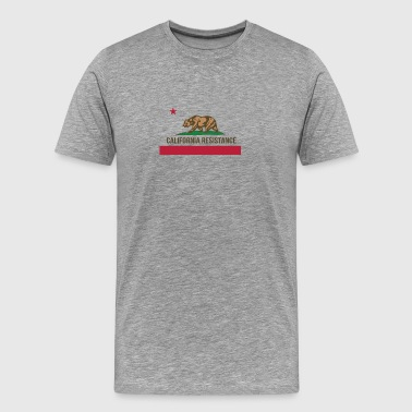 California Resistance Funny - Men's Premium T-Shirt