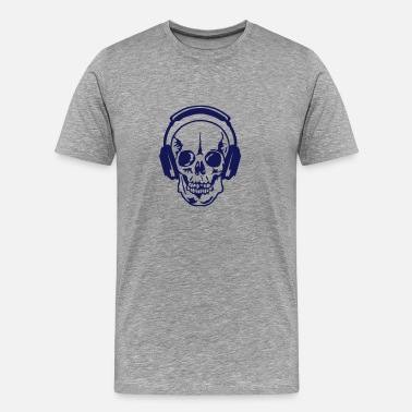 Death Audio dj headphone audio equalizer death head - Men's Premium T-Shirt
