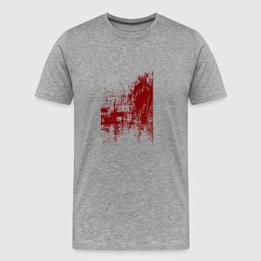 Surreal Art Red - Men's Premium T-Shirt