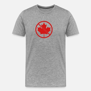 Canadian Sports No Canadians - Men's Premium T-Shirt