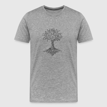 Tree & roots - Men's Premium T-Shirt