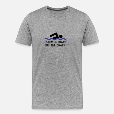 Sports swimming - Men's Premium T-Shirt