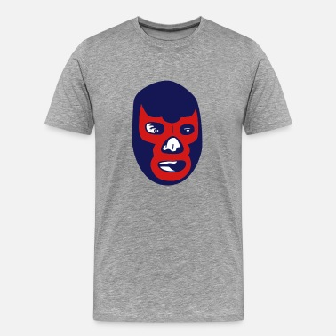 Mexican Wrestling mexican wrestling mask - Men's Premium T-Shirt
