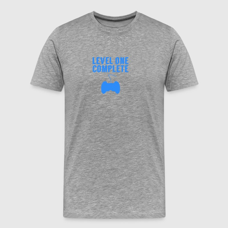Level One Complete First Birthday - Men's Premium T-Shirt