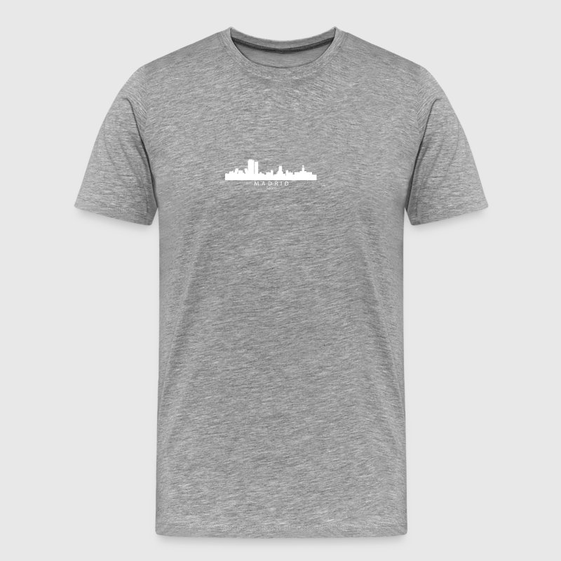 Madrid Spain Skyline - Men's Premium T-Shirt