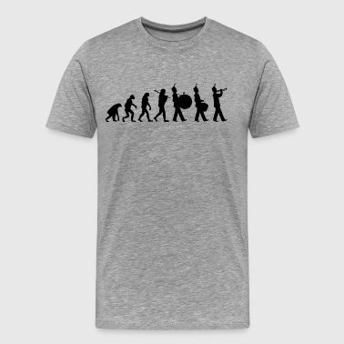 Marching Band Evolution - Men's Premium T-Shirt
