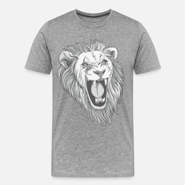 Three Lions lion - Men's Premium T-Shirt